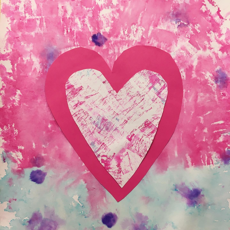 červené srdce obrázek tvořivá výzva radka rubešová