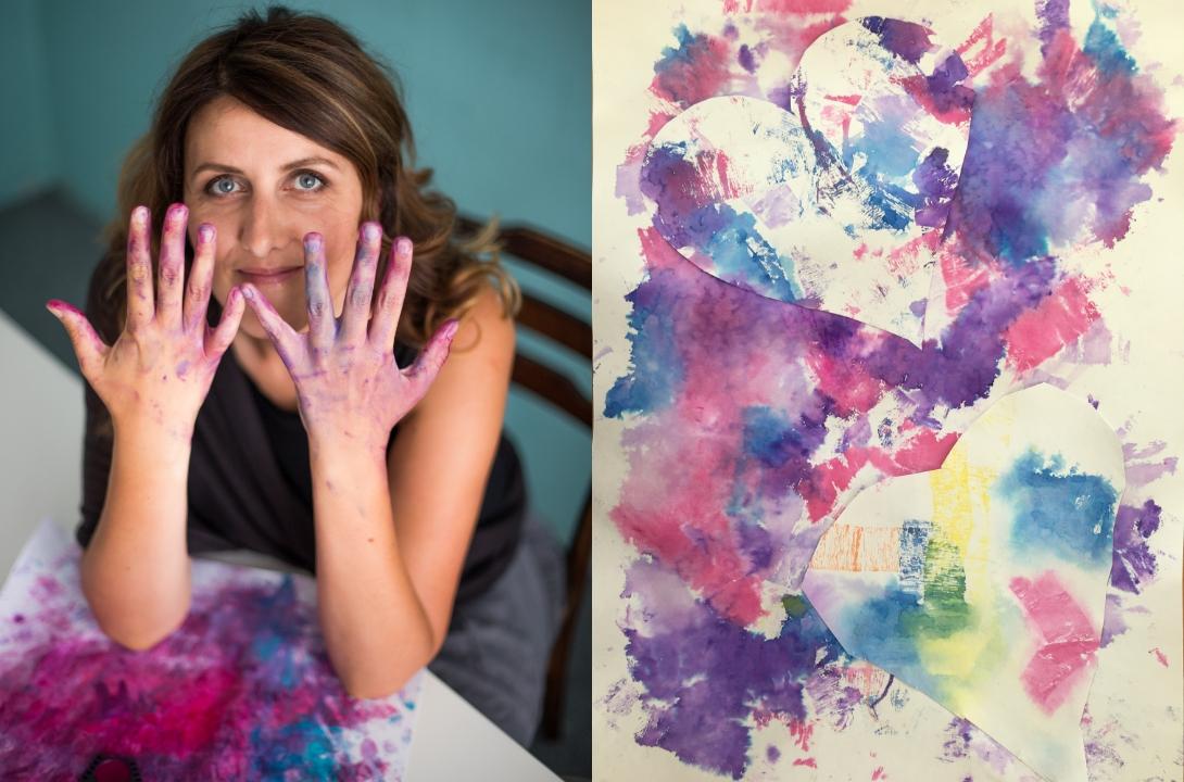 radka rubešová autorka tvořivé výzvy zdarma srdíčkový týden