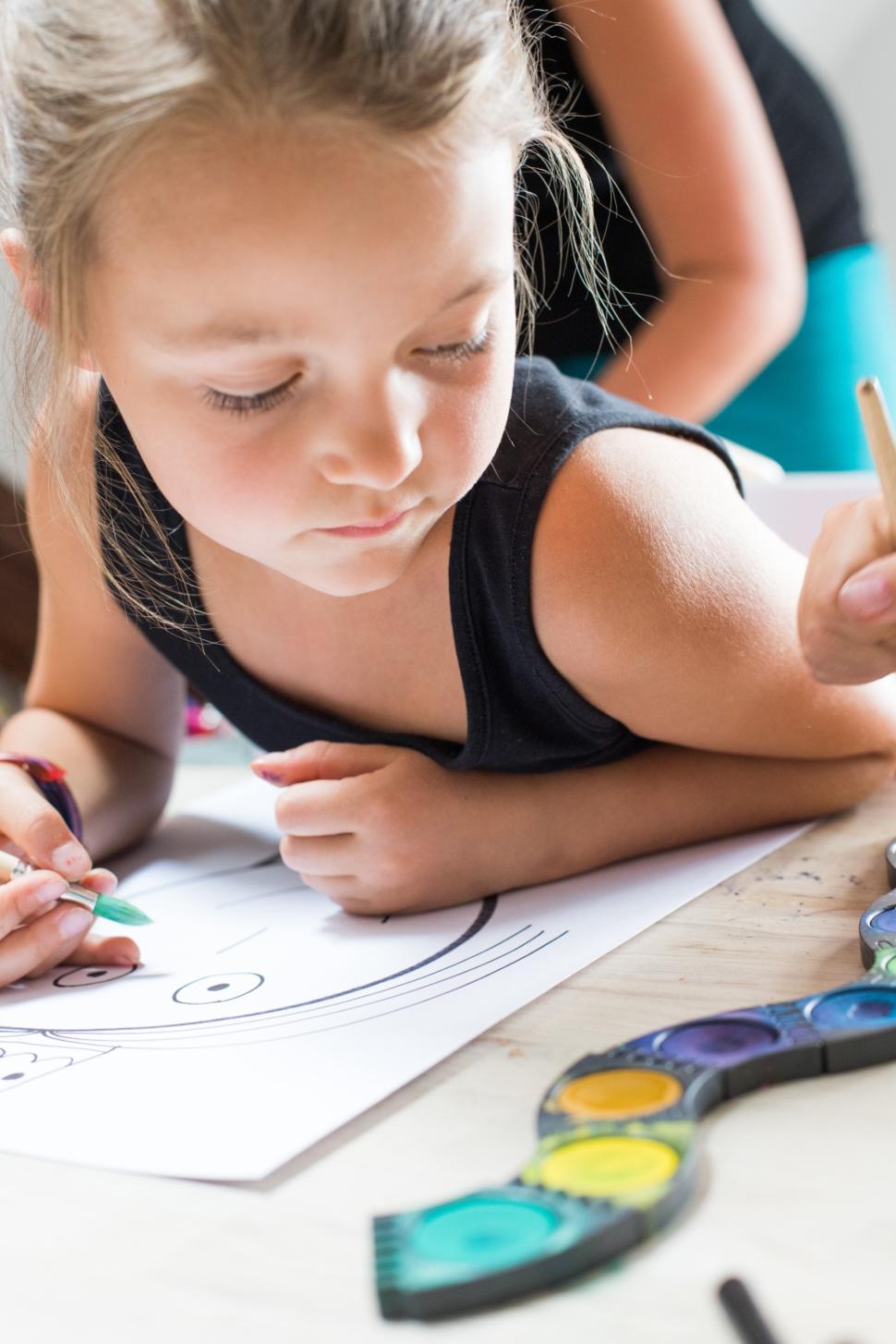 prožitková výtvarná výchova tvoření pro děti lektoři učitelé pedagogové neotřelé výtvarné techniky s radkou rubešovou online kurz