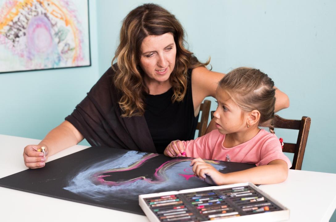 prožitková výtvarná výchova pro pedagogy a lektory neotřelé výtvarné techniky nápady motivace dětí ke tvoření