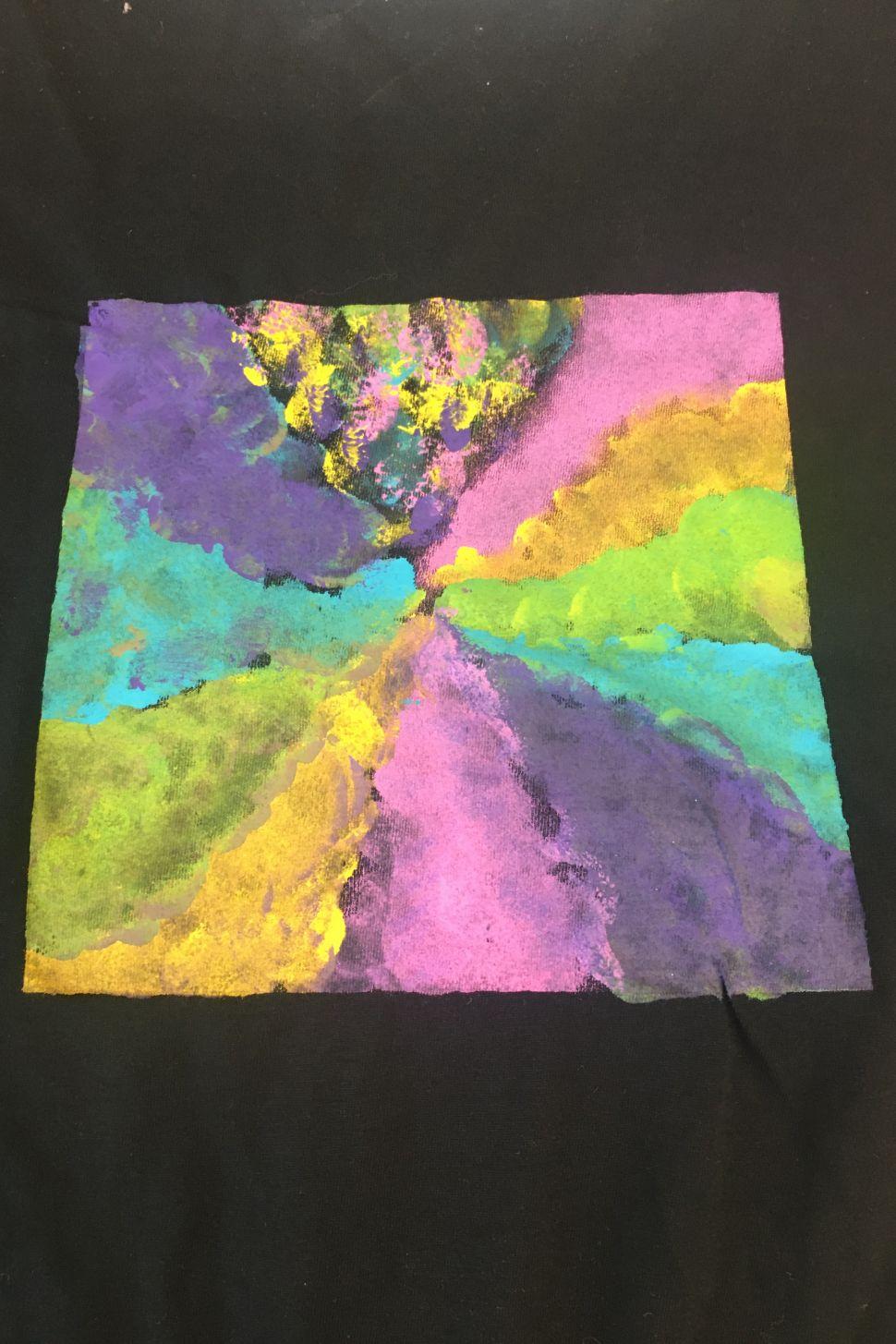 malujeme nejen na tričko online workshop malování na textil webinář 5 výtvarných technik a 10 tipů jak malovat nejen na triko s lektorkou arteterapie radkou rubešovou